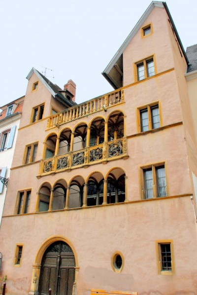 Maison des Chevaliers de Saint-Jean, Colmar © French Moments
