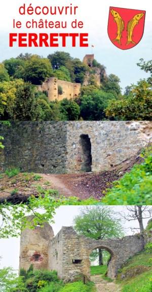 Découvrez le Château de Ferrette en Alsace © French Moments