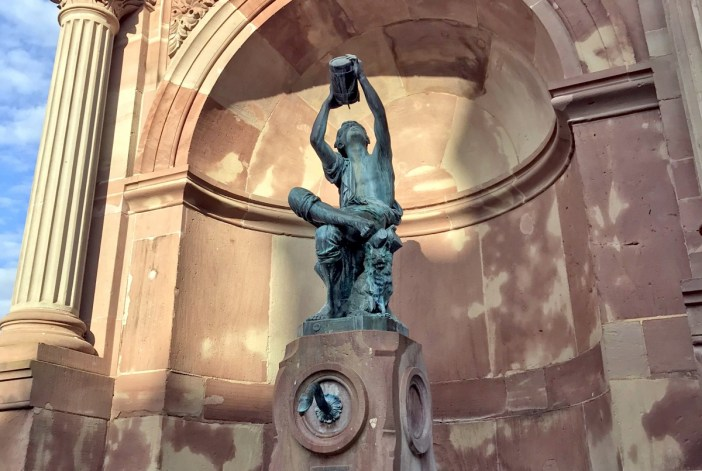 La statue du Petit Vigneron de Bartholdi à Colmar © Arnaud Fuchs