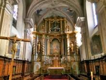 Retable baroque, église d'Aime © French Moments