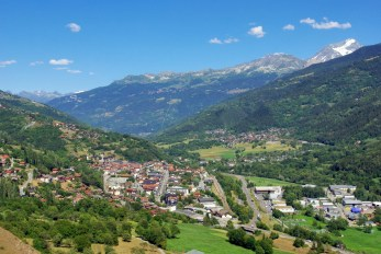 Aime vue depuis Villaroland © French Moments