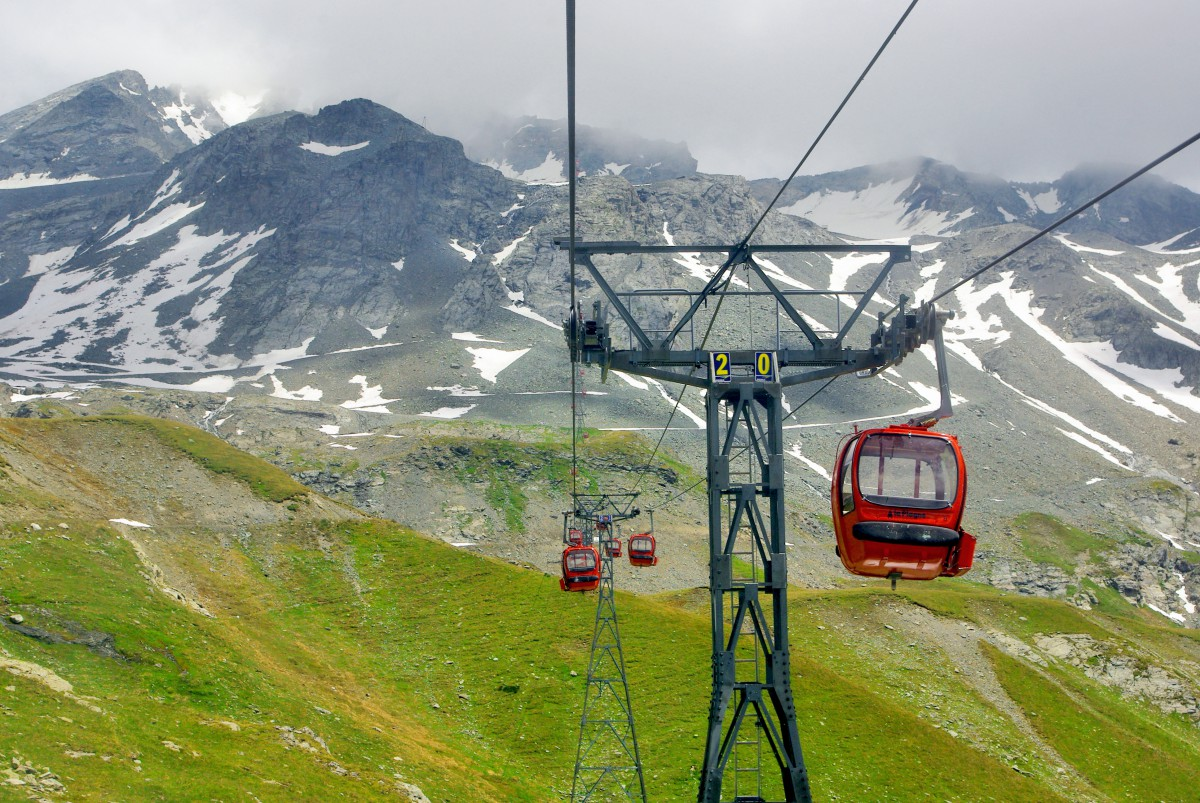 Télécabine de Bellecôte (La Plagne) © French Moments