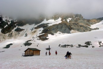 Glacier de la chiaupe, La Plagne © French Moments