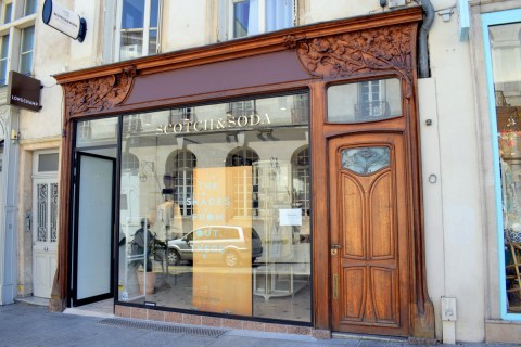 magasin Gouddchaux à Nancy © French Moments