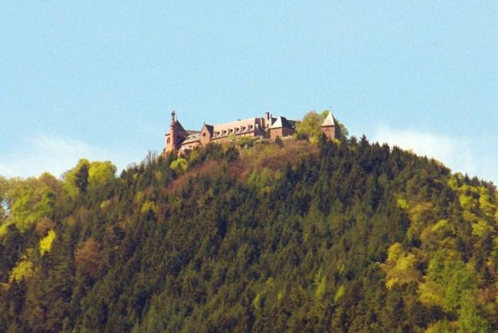 Itinéraire touristique d'Alsace - Mont Sainte-Odile © French Moments