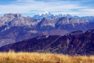 Vue du Semnoz sur le mont Blanc © French Moments