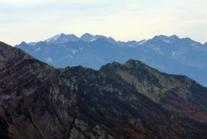 Le massif de Belledonne et les Grandes Rousses © French Moments