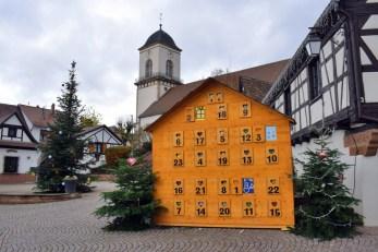 Calendrier de l'Avent à Marlenheim © French Moments