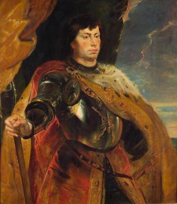 Charles le Téméraire imaginé par Peter Paul Rubens