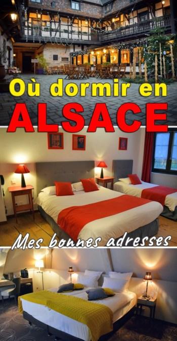 Où dormir en Alsace ? Mes bonnes adresses sur le blog Mon Grand-Est © French Moments