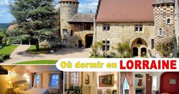 Où dormir en Lorraine © French Moments