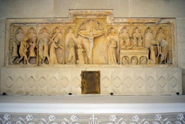 Le retable de pierre, église St-Maur © French Moments