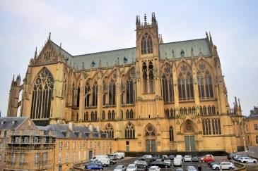 Vue sur la cathédrale de Metz depuis ma chambre à l'Hôtel de la Cathédrale © French Moments
