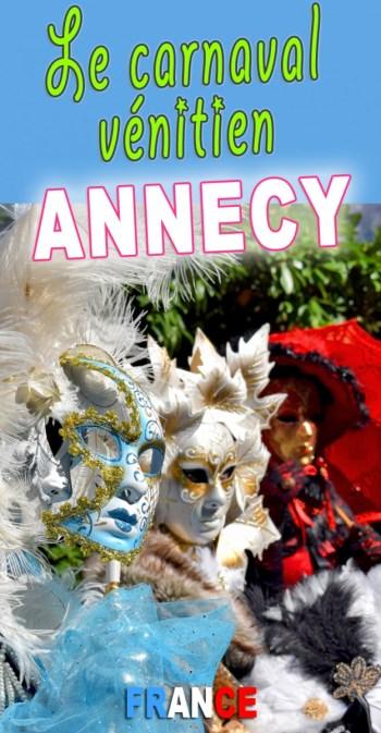 Découvrez le Carnaval Vénitien d'Annecy