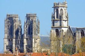 La cathédrale de Toul et l'église St Gengoult © French Moments
