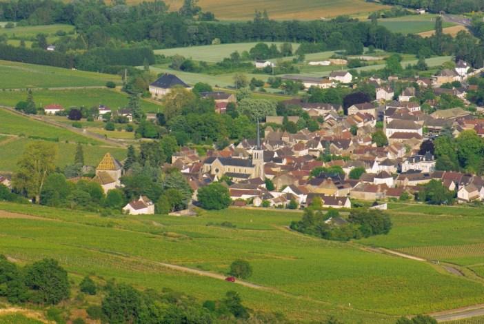 Santenay vu du Mont de Sène © French Moments