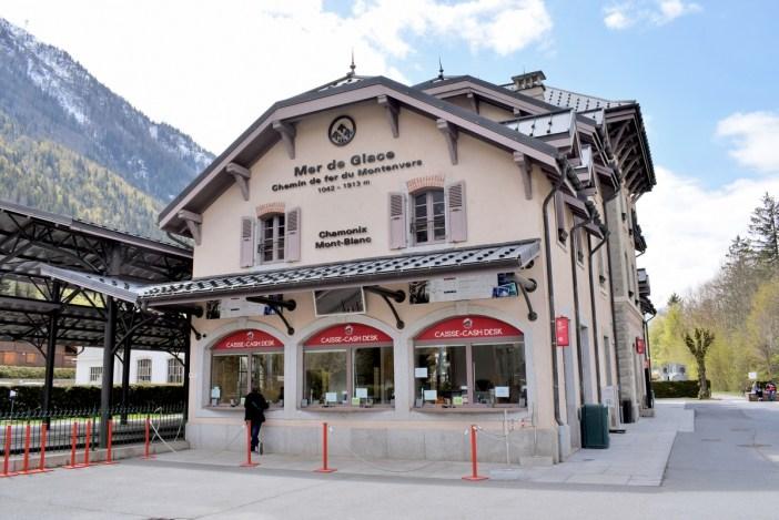 La gare de Montenvers à Chamonix © French Moments