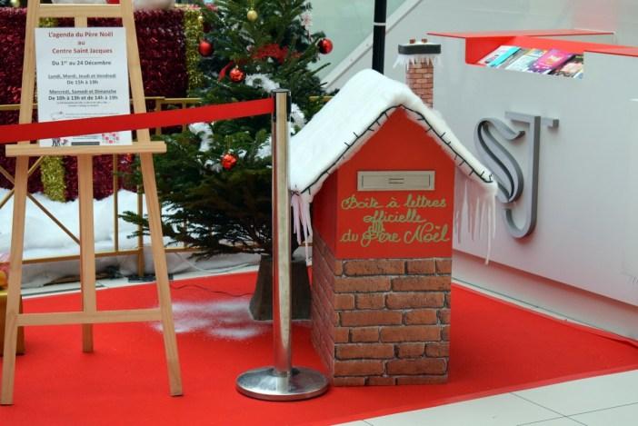 La boîte aux lettres du Père Noël au centre Saint-Jacques de Metz © French Moments
