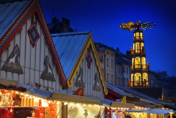 Marché de Noël de Metz (place Saint-Louis) © French Moments