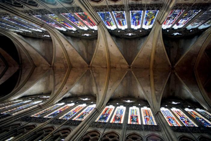 La voûte de la cathédrale © French Moments