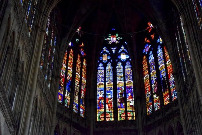 Vitraux de Metz - Le chœur de la cathédrale © French Moments