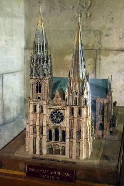 Maquette de la cathédrale de Chartres © French Moments
