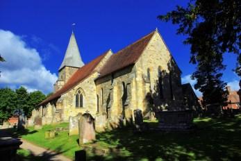 L'église anglicane de Burwash (Angleterre) © French Moments