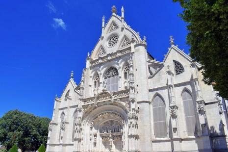 La façade de l'église du Monastère Royal de Brou © French Moments