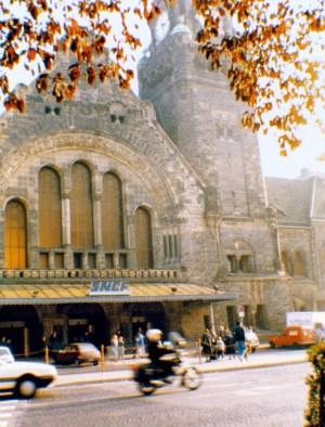 La gare de Metz dans les années 1980 © Pierre Guernier