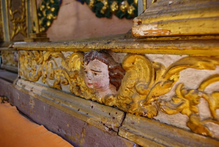 Détail Baroque, église de Granier © French Moments