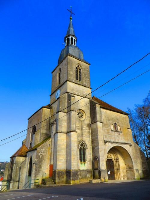 L'église Saint-Nicolas de Neufchâteau © Aimelaime - licence [CC BY-SA 4.0] from Wikimedia Commons