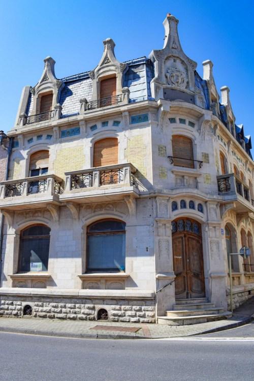 Le bâtiment Art Nouveau à Vaucouleurs © French Moments