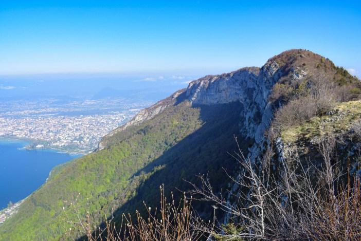 Le mont Veyrier vu du mont Baron © French Moments