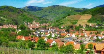 Autour de Strasbourg : Andlau © French Moments