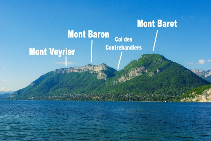 Les monts Veyrier, Baron et Baret © French Moments