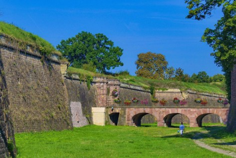 Les fortifications de Neuf-Brisach © Psu973 - licence [CC BY-SA 3.0] from Wikimedia Commons