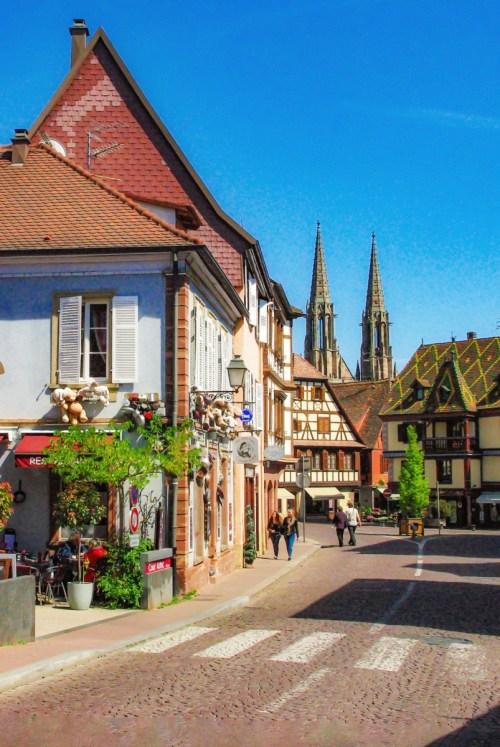 Autour de Strasbourg : Obernai © French Moments