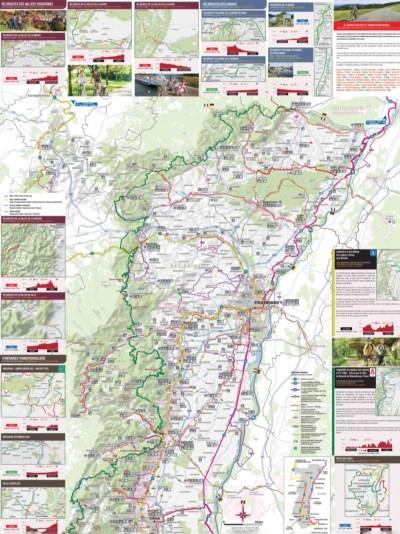 Itinéraire Alsace à vélo