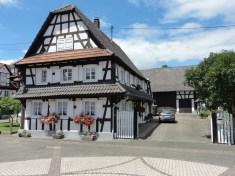Maison à pans de bois à Hunspach © Ralph Hammann - licence [CC BY-SA 4.0] from Wikimedia Commons