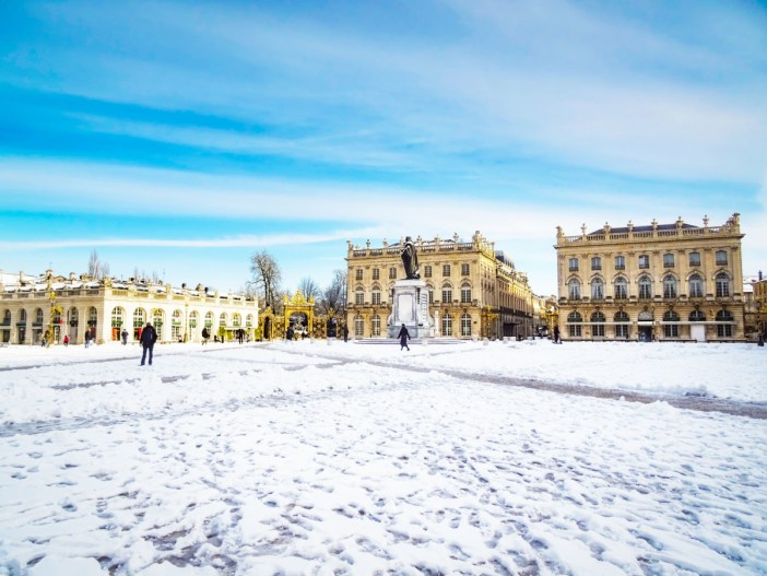 Place Stanislas sous la neige © French Moments