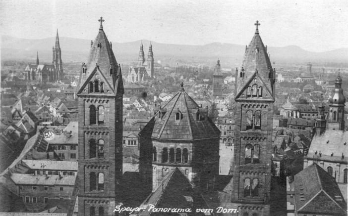 La cathédrale de Spire vers 1922