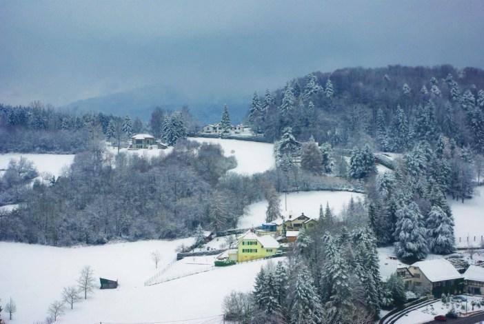 L'hiver - dans les alentours de Ferrette, Jura alsacien © French Moments