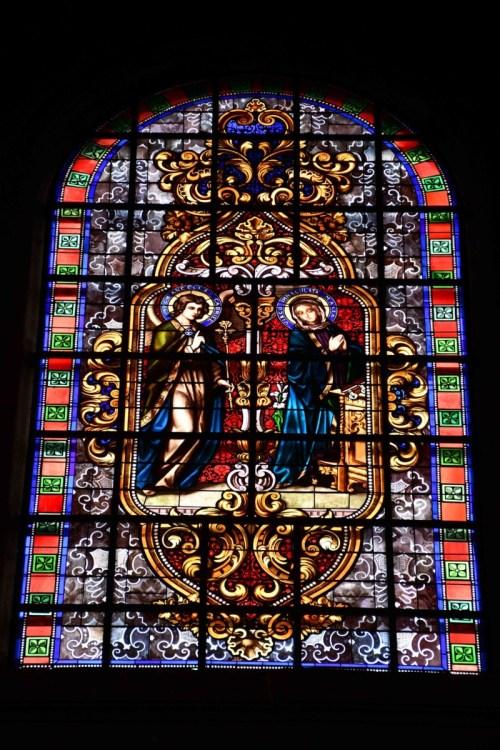 Eglise Notre-Dame - Vitrail de l'Annonciation © French Moments