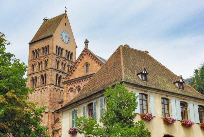 Place de la mairie, Gueberschwihr © French Moments