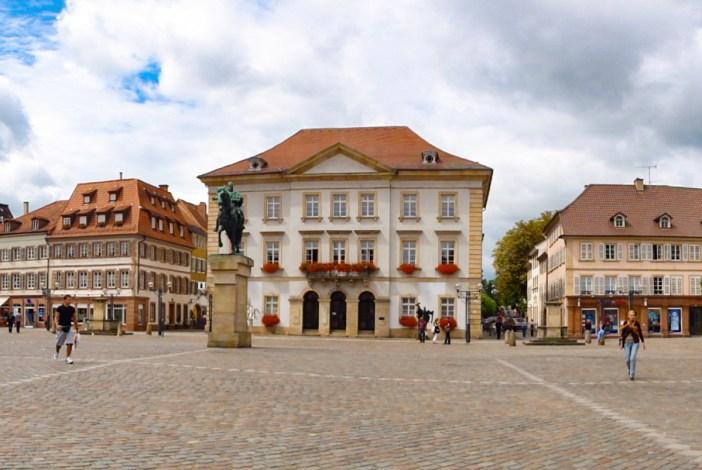 Décapole alsacienne - Rathausplatz, Landau in der Pfalz © Ralph Hammann - licence [CC BY-SA 3.0] from Wikimedia Commons