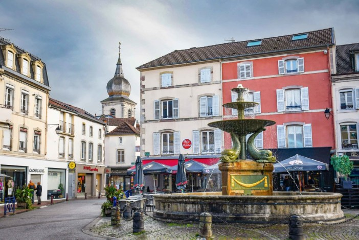 Remiremont - Place De Lattre de Tassigny © French Moments