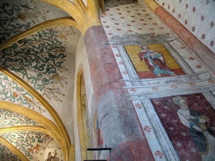 Les fresques de l'église de Sillegny © Vincent Zimmermann - licence [CC BY-SA 3.0] from Wikimedia Commons
