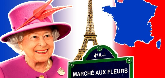 Elizabeth II en France