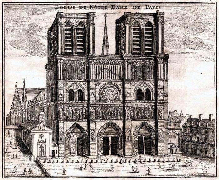 Notre-Dame de Paris en 1776