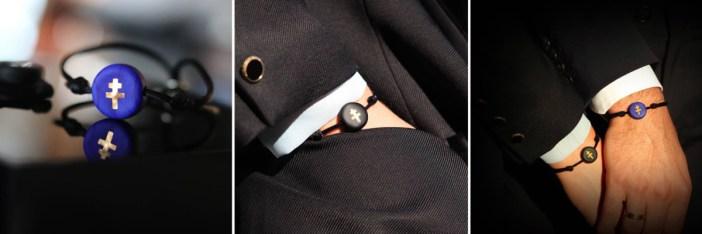 Bracelet Croix de Lorraine par Michaël Vessière